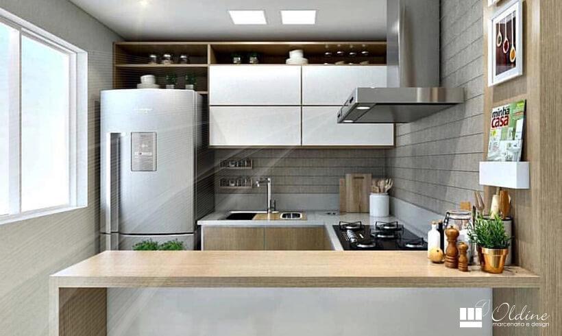 10 Truques de Móveis Planejados para Cozinha Pequena