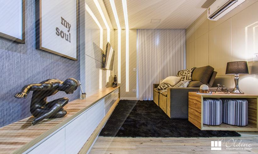 Móveis Planejados para Sala Pequena de Apartamento